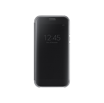 Samsung A7 2017 Clear View Cover Black